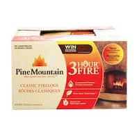 Pine Mountain 41525-01301 3-Hour Traditional Fire Log, 6-Pack