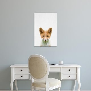 Easy Art Prints Tai Prints's 'Baby Fox' Premium Canvas Art