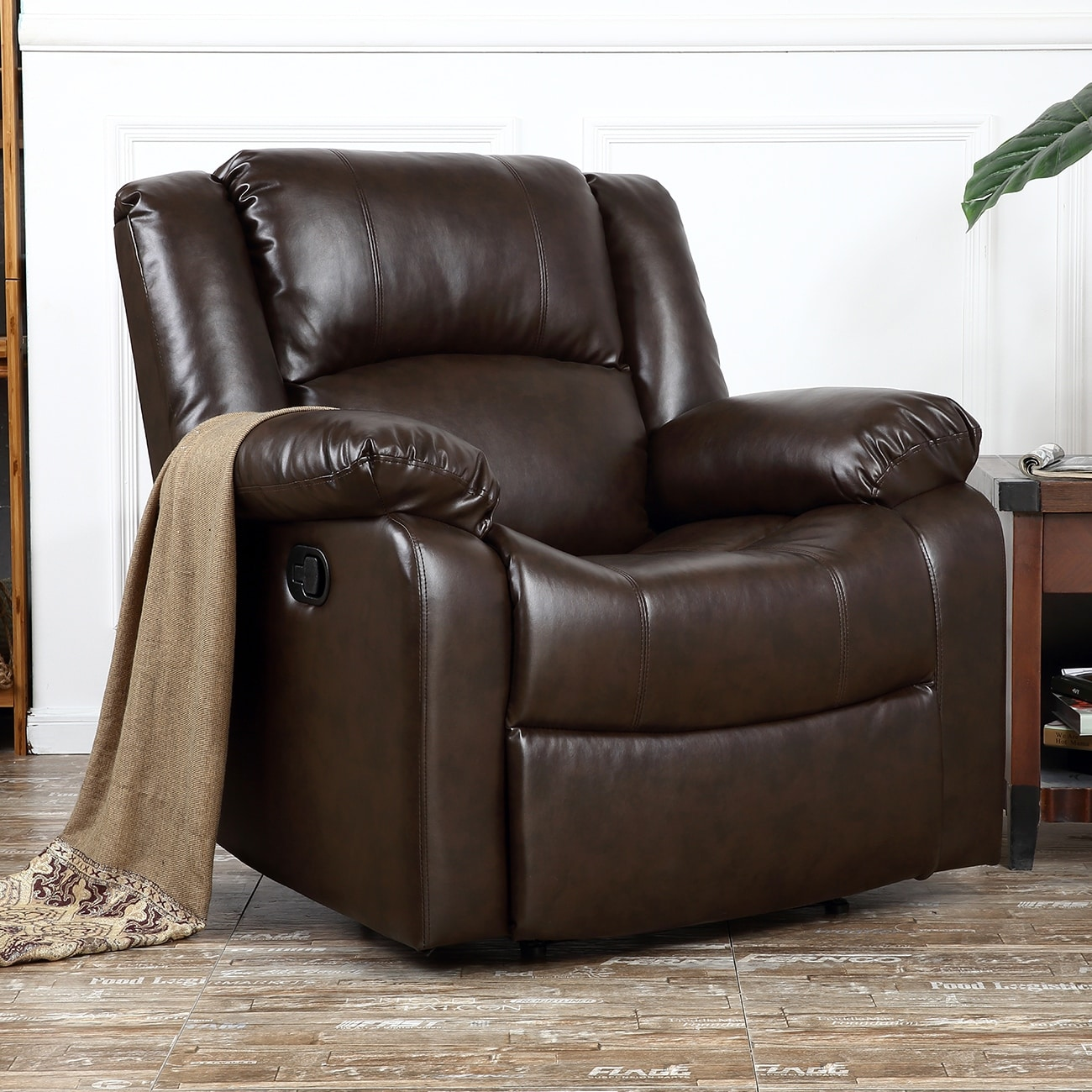 Pleasant Buy Assembled Faux Leather Recliner Chairs Rocking Gamerscity Chair Design For Home Gamerscityorg