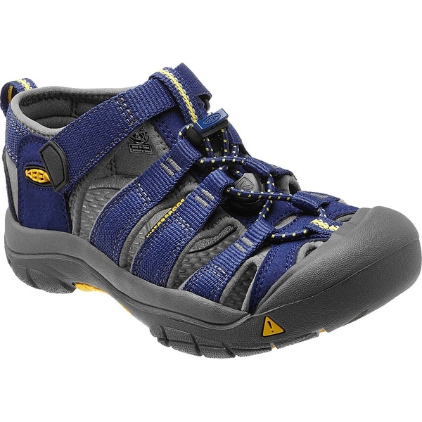 Keen Newport H2 Youth Sandal,Water Shoe, Blue Depths/Gargoyle