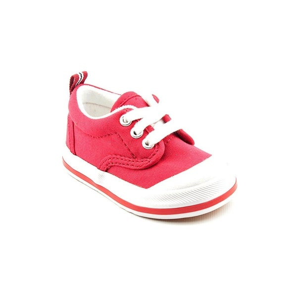 Shop Keds Graham Cvs Toddler W Round Toe Canvas Red Sneakers - Free ... 33334207d