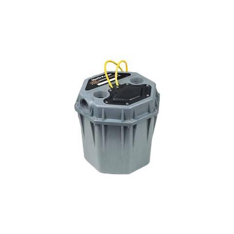 "Liberty Pumps 405 1/2 HP High-Temperature Commercial Sink/Drain Pump System (2"") -"