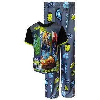 Marvel Boys 4-10 Avengers Pajama Set