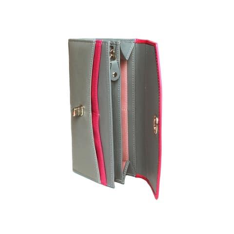 Eastern Counties Leather Womens/Ladies Aria Twist Lock Wallet - One size