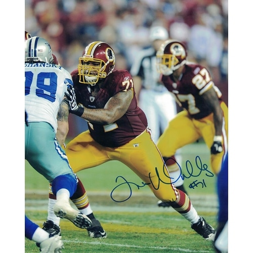 Photo 8x10 Autographed Williams Vs Cowboys Trent Redskins Washington