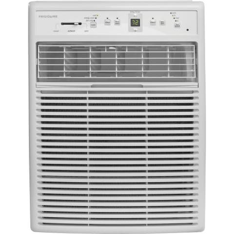 Frigidaire White FFRS0822S1 8,000 BTU 115V Slider/Casement Room Air Conditioner with Full-Function Remote Control