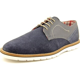 Ben Sherman Mickey 2 Men Round Toe Suede Blue Oxford