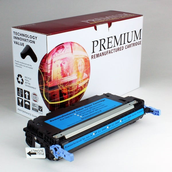 ReMade in America Premium Brand replacement for HP 503A Q7581A Cyan Toner (6,000 Yield)