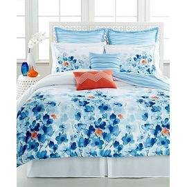 Water Garden 8 Piece Queen Comforter Set