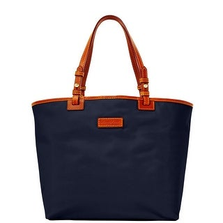 Dooney & Bourke Nylon Lee Tote (Introduced by Dooney & Bourke at $168 in Feb 2014) - Navy