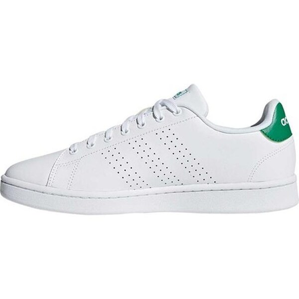 Shop adidas Men's Advantage Sneaker FTWR White/FTWR White ...