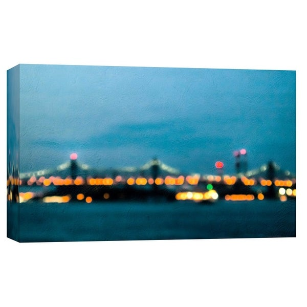 """PTM Images 9-101715 PTM Canvas Collection 8"""" x 10"""" - """"59Th Street Bridge"""" Giclee New York Art Print on Canvas"""