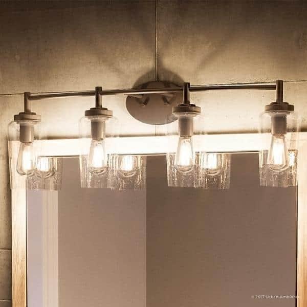 Luxury Vintage Bathroom Vanity Light 10 H X 32 5 W