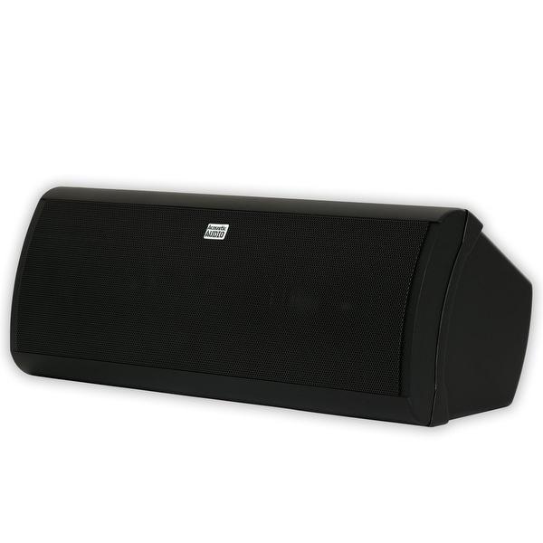 Acoustic Audio AA40CB Indoor 3 Way Center Speaker 500 Watts Black Bookshelf
