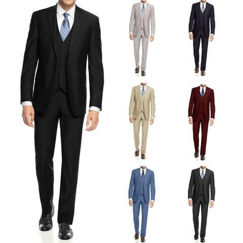 Braveman Mens 3PC Slim Fit Suits