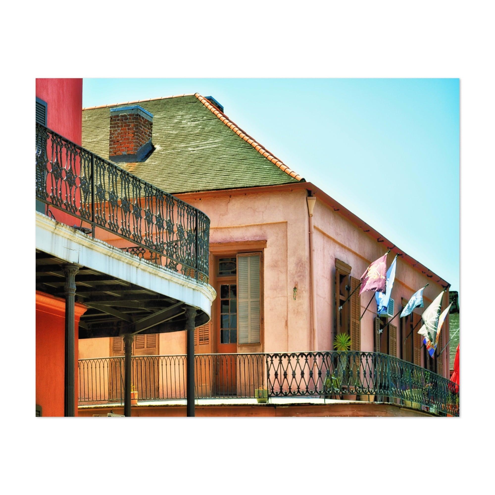 French Quarter Cityscape 20 Poster Art Print New Orleans Home Decor