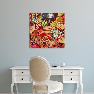 Easy Art Prints James Burghardt's 'Spring Mix II' Premium Canvas Art