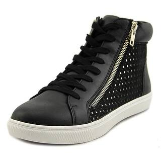 Steve Madden Elyka Women Round Toe Leather Black Sneakers|https://ak1.ostkcdn.com/images/products/is/images/direct/46c4b58fcace8da527471092dbbce1bea124c9dd/Steve-Madden-Elyka-Women-Round-Toe-Leather-Black-Sneakers.jpg?impolicy=medium