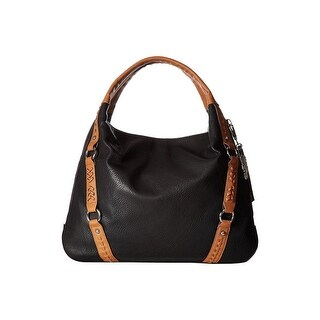 Jessica Simpson Womens Shana Tote Handbag Faux Leather Shopper - Large