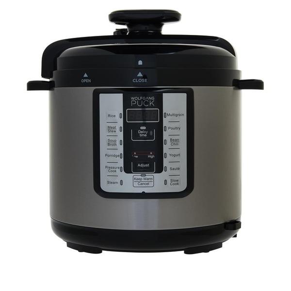 Shop Wolfgang Puck 8-Quart Programmable Pressure Cooker Model 668-625 - Overstock - 32199674