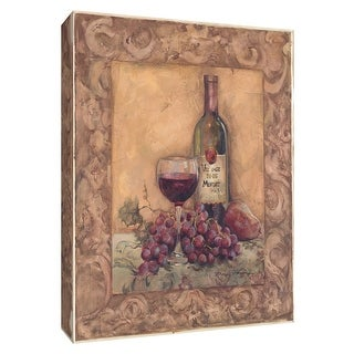 "PTM Images 9-154462  PTM Canvas Collection 10"" x 8"" - ""Napa Wine II"" Giclee Wine Art Print on Canvas"