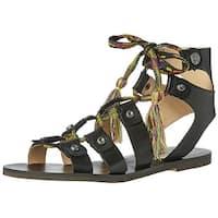 GUESS Women's Franda Flat Sandal - 7.5