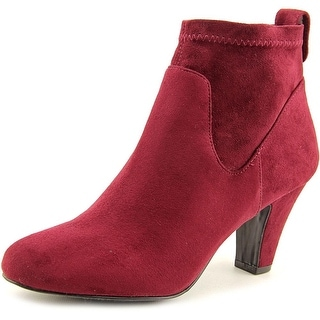 BCBGeneration Delilah Pointed Toe Synthetic Ankle Boot