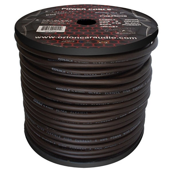 Cobalt Orion Wire 8 Gauge 250 FTS Black