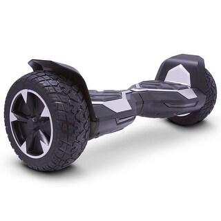 MotoTec Hoverboard Ninja 36v 8.5inch Silver (Bluetooth)