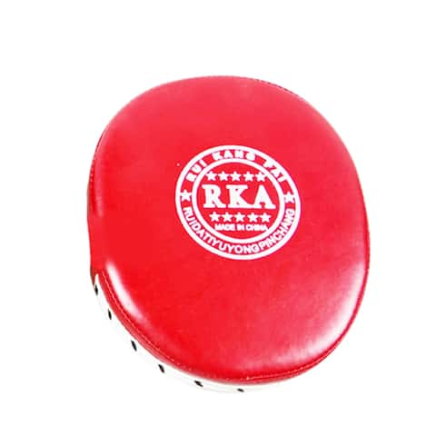 boxing target free combat Muay Thai martial art gloves with five fingers taekwondo training target - Red