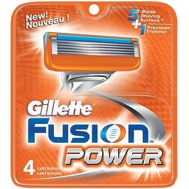 Gillette Fusion Power Cartridges 4 Each
