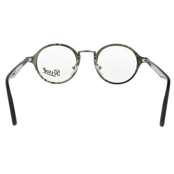 58db7c8b3883 Shop Persol PO3128V 1020 Grey Round Optical Frames - 46-22-145 ...