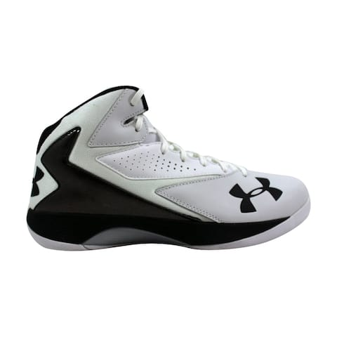 04cc3a50ec1c Under Armour UA Lockdown White Metallic Silver-Black 1269281-101 Men s