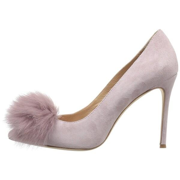 Pour La Victoire Womens Camilla Pointed Toe Classic Pumps Purple Size 8.0