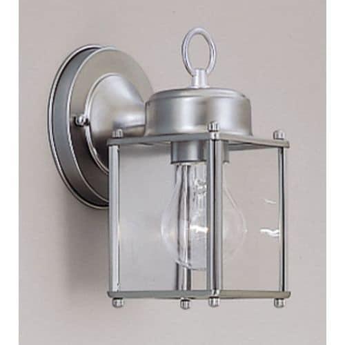 "Designers Fountain 1161-PW 1 Light 4.75"" Wall Lantern"