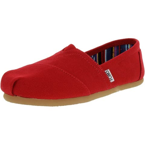 Toms Women's Classic Canvas Ankle-High Slip-On Shoes