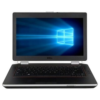 "Refurbished Laptop Dell Latitude E6420 14.0"" Intel Core i5-2410M 2.3GHz 8GB DDR3 240GB SSD Windows 10 Pro 1 Year Warranty"