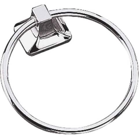 Mintcraft 41921670 Aluminum Towel Ring, Chrome
