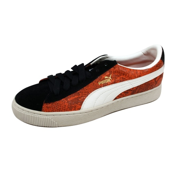 Puma Men's Reptile Lo Team Orange/Black-Whisper 344199 02