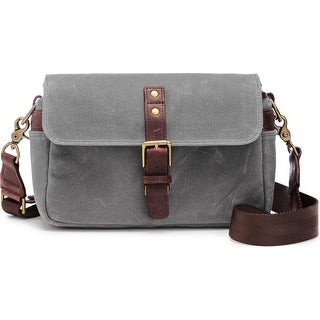 ONA - The Bowery - Camera Messenger Bag - Smoke Gray, Waxed Canvas