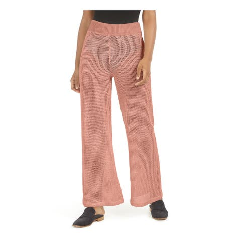 FREE PEOPLE Womens Coral Patterned Boot Cut Pants Size XS