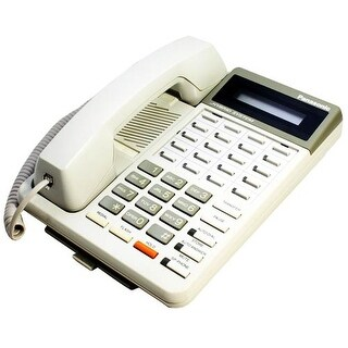 Refurbished Panasonic KX-T7030W-R Hybrid System Telephone -White
