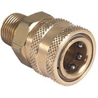 Mi-T-M AW-0017-0007 Pressure Washer Socket, Brass