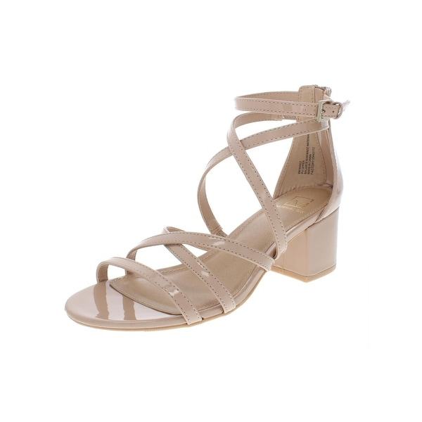 5f5cccaea4 Shop Material Girl Womens 191261988142 Dress Sandals Patent Strappy ...