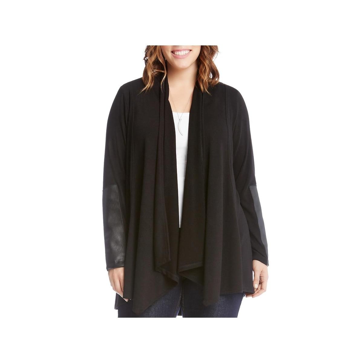 Karen Kane Womens Shawl Collar Jacket