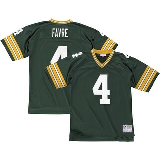 Brett Favre Green Bay Packers Mitchell & Ness 1996 Throwback Jersey