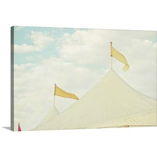 """Circus in town"" Canvas Wall Art"
