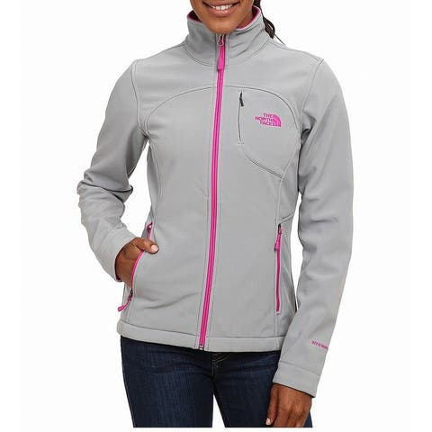 The North Face Gray Pink Womens Size Medium M Apex Bionic Jacket