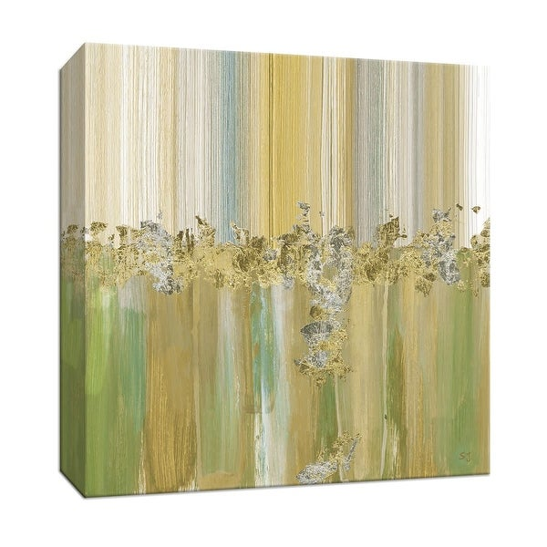 "PTM Images 9-147771 PTM Canvas Collection 12"" x 12"" - ""Morning Dew I"" Giclee Abstract Art Print on Canvas"
