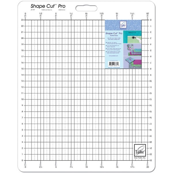 "Shape Cut Pro Ruler-20""X23"""